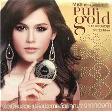 Buy Mistine Number 1 Pur Gold Super Powder Shade S2 Medium
