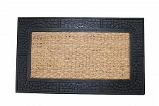 Buy *17941U - Welcome Rubber & Coir Door Mat Reptile Texture Border