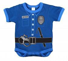 Buy One Piece Police Officer Uniform Infant Bodysuit