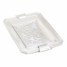 Buy 14980U - Mickey Mouse Flora Platter Silver Aluminum Alloy Court Designs Disney