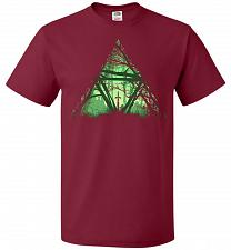 Buy Treeforce Unisex T-Shirt Pop Culture Graphic Tee (2XL/Cardinal) Humor Funny Nerdy Gee