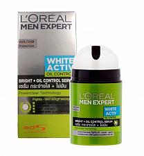 Buy L'Oreal Men Expert White Activ Oil Control Serum Moisturizer 50ml