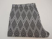 Buy Women Capri Leggings Chevron Print SIZE 2XL Inseam 22 Cropped Legs Elastic Waist