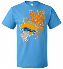 Buy Demon Fox Unisex T-Shirt Pop Culture Graphic Tee (S/Pacific Blue) Humor Funny Nerdy G