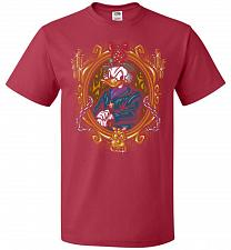 Buy Scrooge McDuck A Miserly Portrait Adult Unisex T-Shirt Pop Culture Graphic Tee (M/Tru