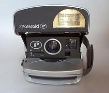 Buy Polaroid P 600 Gray/Silver Vintage Instant Film Camera. TESTED, WORKING
