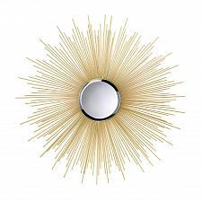 "Buy *15862U - Golden Rays 7"" Beveled Round Mirror Ironwork Spray"