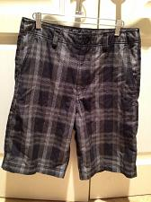 Buy Mens plaid shorts size 30 by Champs