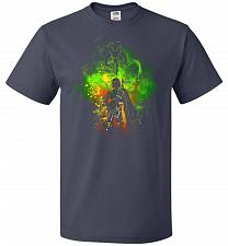 Buy Mandalore Art Unisex T-Shirt Pop Culture Graphic Tee (2XL/J Navy) Humor Funny Nerdy G