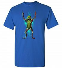 Buy It's Pickle Rick! Unisex T-Shirt Pop Culture Graphic Tee (L/Royal) Humor Funny Nerdy