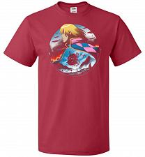 Buy In The Midst Of War Castle Unisex T-Shirt Pop Culture Graphic Tee (5XL/True Red) Humo