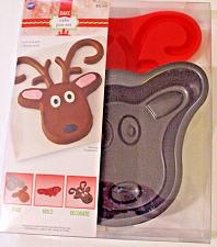 Buy Wilton Reindeer Cake Pan Set 2105-8105 2 Piece Bake Ware NIP
