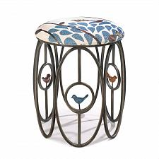 Buy *16180U - Free As A Bird Openwork Iron Frame Padded Stool