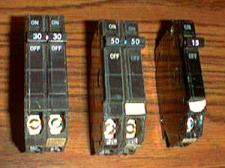 Buy Lot of 3: General Electric Circuit Breakers