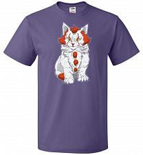 Buy kITten Unisex T-Shirt Pop Culture Graphic Tee (4XL/Purple) Humor Funny Nerdy Geeky Sh