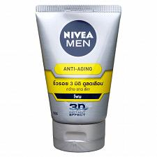 Buy Nivea Men Anti Aging 3D Wrinkle Repair Q10 Facial Cleanser Foam 100ml
