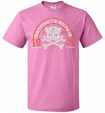 Buy Transformers Ratchet's Repair Adult Unisex T-Shirt Pop Culture Graphic Tee (M/Azalea)