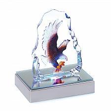 Buy 39360U - LED Color Change Light Glass Crystal Eagle Sculpture