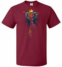 Buy Shadow Of The Hearts Unisex T-Shirt Pop Culture Graphic Tee (S/Cardinal) Humor Funny
