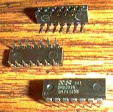 Buy Lot of 25: National Semiconductor DM74125N DM8093N