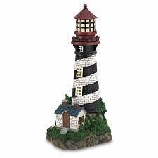 Buy 35719U - Solar Power Resin Lighthouse Garden Decor Yard Art