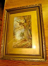Buy 1880 Thomas Taylor Ireland Antique Original Enchanted Watercolor Painting Signed