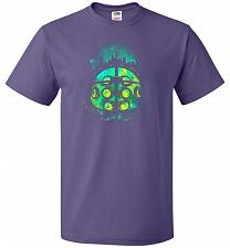 Buy Face Of Rapture Unisex T-Shirt Pop Culture Graphic Tee (L/Purple) Humor Funny Nerdy G