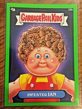 Buy Garbage Pail Kids Bns1 Green Border -Infested Ian- 29b Sticker 2012 GPK
