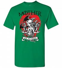 Buy Mother of Dragons Unisex T-Shirt Pop Culture Graphic Tee (3XL/Turf Green) Humor Funny