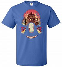 Buy Welcome to the Magical Bathhouse Unisex T-Shirt Pop Culture Graphic Tee (6XL/Royal) H