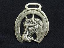 Buy Horse Brass Decorative Tack Bridle Horseshoe Antique Vintage