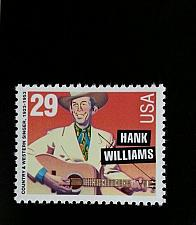 Buy 1993 29c Hank Williams, Country Music Hall of Fame Scott 2723 Mint F/VF NH