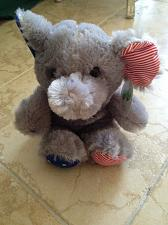 Buy plush elephant stuffed animal election red white and blue paws