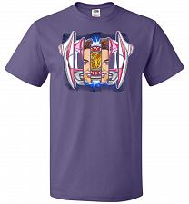 Buy Pink Ranger Unisex T-Shirt Pop Culture Graphic Tee (XL/Purple) Humor Funny Nerdy Geek