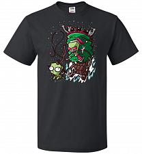 Buy Zime That Stole Christmas Unisex T-Shirt Pop Culture Graphic Tee (4XL/Black) Humor Fu