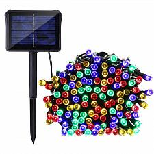 Buy :11037U - 100 LED Solar String Light 32ft Multi-color