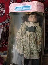 """Buy Porcelain doll with Floral & Lace Dress & Hat 16"""" Exclusive Collection Memories"""