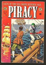 Buy PIRACY #4 Kriegstein Graham Evans Crandall 1955 EC COMICS 1st Print & Series