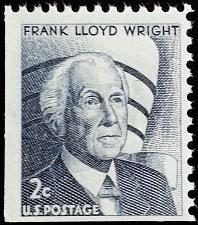 Buy 1968 2c Frank Lloyd Wright, Booklet Single Scott 1280a Mint F/VF NH