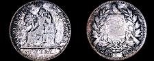 Buy 1899 Guatemalan 1 Real World Silver Coin - Guatemala - .500/.550 KM-174a