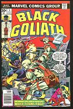 Buy BLACK GOLIATH #5 Fine+ or better Claremont / Pollard 1976 Marvel Comics VARIANT