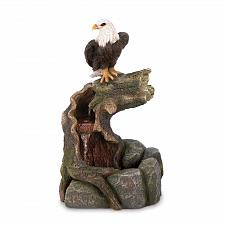 "Buy *17527U - Majestic Eagle 27"" Garden Water Fountain Yard Art"