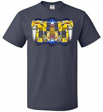 Buy Yellow Ranger Unisex T-Shirt Pop Culture Graphic Tee (6XL/J Navy) Humor Funny Nerdy G