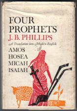 Buy FOUR PROPHETS :: Amos, Hosea, Micah, Isaiah :: 1963 HB :: FREE Shipping