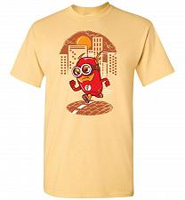 Buy Flash Minion Unisex T-Shirt Pop Culture Graphic Tee (M/Yellow Haze) Humor Funny Nerdy