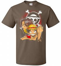 Buy Pirate King Unisex T-Shirt Pop Culture Graphic Tee (6XL/Chocolate) Humor Funny Nerdy