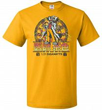 Buy Back To Japan Unisex T-Shirt Pop Culture Graphic Tee (S/Gold) Humor Funny Nerdy Geeky