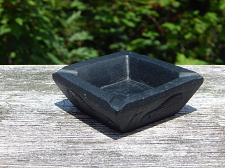 Buy Inuit Eskimo Art soapstone carving Ashtray: 4 different motifs on each of square