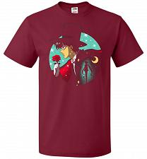 Buy Knight Of The Moonlight Unisex T-Shirt Pop Culture Graphic Tee (L/Cardinal) Humor Fun