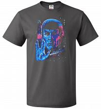 Buy Live Long And Prosper Unisex T-Shirt Pop Culture Graphic Tee (S/Charcoal Grey) Humor